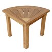 Anderson Teak Spa Corner Shower Stool