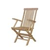 Anderson Teak Bristol Folding Dining Arm Chair