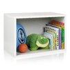 "Way Basics Rectangle Plus 15.5"" Eco Stackable Shelf and Shoe Rack Bookcase"