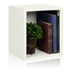 """Way Basics Cube Plus 15.5"""" Eco Stackable Storage Cubby Bookcase"""