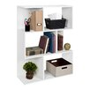 """Way Basics Madison 44.8"""" Eco Bookcase, Room Divider and Storage Shelf"""