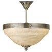 Eglo Marbella 3 Light Inverted Bowl Pendant Light