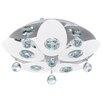 Eglo Tessera 5 Light Semi-Flush Ceiling Light