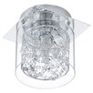 Eglo Pianella 1 Light Flush Ceiling Light