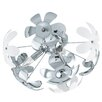 Eglo Camile 3 Light Semi Flush Ceiling Light