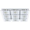 Eglo Cabo 9 Light Flush Ceiling Light