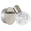 Eglo Basento 1 Light Semi-Flush Ceiling Light