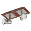 Eglo Algonda 2 Light Ceiling Spotlight