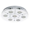 Eglo Cabo 7 Light Flush Ceiling Light