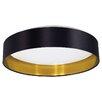 Eglo Maserlo 1 Light Flush Ceiling Light
