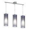 Eglo Pinto Nero 3 Light Kitchen Island Pendant Light