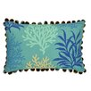 Waverly Marine Life Cotton Lumbar Pillow