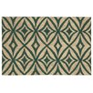 Waverly Greeting Centro Teal Doormat