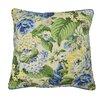 Waverly Floral Flourish Cotton Throw Pillow
