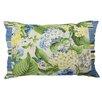 Waverly Floral Flourish Cotton Lumbar Pillow