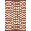 Waverly Sun and Shade Red Indoor/Outdoor Area Rug