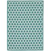 Waverly Art House Teal Area Rug