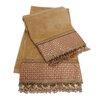 Sherry Kline Chenille Dot Decorative 2 Piece Towel Set