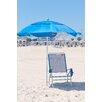Frankford Umbrellas 6 ft. Diameter Fiberglass Beach Haven Umbrella - Pacific Blue