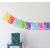 Children Inspire Design Mini 8 Piece 'You Are' Inspirational Wall Card Set