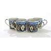 Le Souk Ceramique Tibarine Stoneware Coffee Mug (Set of 4)
