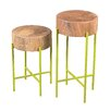 Moe's Home Collection Bruno End Table (Set of 2)