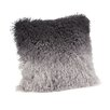 Moe's Home Collection Lamb Fur Spectrum Throw Pillow