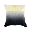 Moe's Home Collection Goat Fur Throw Pillow