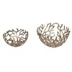 Moe's Home Collection 2 Piece Branch Bowl Set (Set of 2)