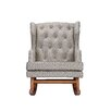 Nursery Works Empire Greek Key Rocker