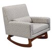 Nursery Works Sleepytime Rocker in Athena Cotton
