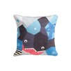 Nursery Works Oceanography Cubist Print Toddler Pillow Case