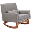 Nursery Works Sleepytime Rocker in Perennial Cotton
