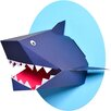 Nursery Works Oceanography Xander the Shark Paper Bust Wall Decor