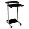 Luxor Standing Desk AV Cart with Casters