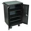 Luxor Charging Stations 24-Compartment Tablet Storage Cart