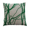 Dermond Peterson Flora Vine Linen Throw Pillow