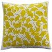 Dermond Peterson Flora Ginkgo Linen Throw Pillow