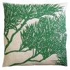 Dermond Peterson Fllora Pine Bough Zoom Linen Throw Pillow