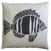 Dermond Peterson Skandia Fisk Linen Throw Pillow