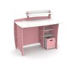 "Legare Furniture Princess 43"" Writing Desk with Accessory Shelves and File Cart"