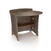 """Legare Furniture Driftwood 32"""" H x 31"""" W Desk Peninsula"""