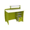 "Legare Furniture Frog 43"" Writing Desk with Accessory Shelves, File Cart, and Chair"
