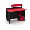 Legare Furniture Red Race Kids' Complete Desk System Set