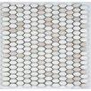 Emser Tile Confetti Porcelain Mosaic Tile in White