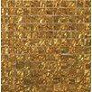 Emser Tile Vista 12'' x 12'' Glass Mosaic Tile in Gold