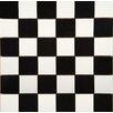 "Emser Tile Times Square 2"" x 2"" Porcelain Mosaic Tile in Black and White"