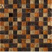 Emser Tile Vista Caldo Glass Mosaic Tile in Multi