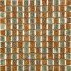 Emser Tile Vista Glass Splitface Tile in Multi
