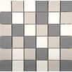 "Emser Tile Times Square 2"" x 2"" Porcelain Mosaic Tile in Multi-colored"